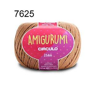 Linha Amigurumi 254m Cor 7625 Castanha - Círculo