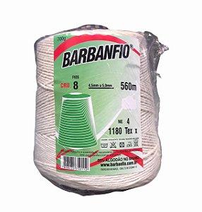 Barbante Barbanfio 8 fios Cru 700 Gramas 560 Metros