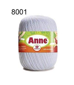 Linha Anne 500m Cor 8001 Branco - Círculo