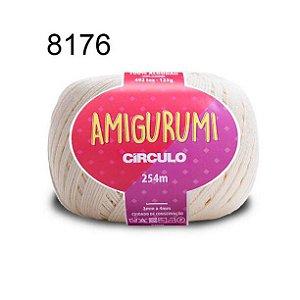 Linha Amigurumi 254m Cor 8176 Off - Círculo