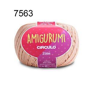 Linha Amigurumi 254m Cor 7563 Chantily - Círculo