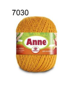 Linha Anne 500m Cor 7030 Mostarda - Círculo