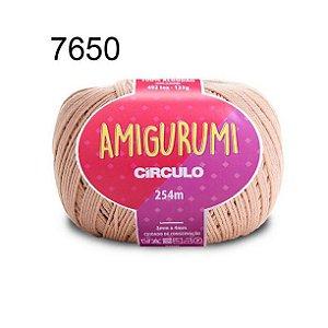 Linha Amigurumi 254m Cor 7650 Amêndoa - Círculo