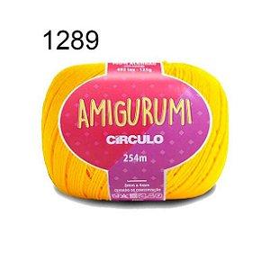 Linha Amigurumi 254m Cor 1289 Canário - Círculo
