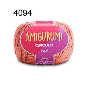 Linha Amigurumi 254m Cor 4094 Cetim - Círculo