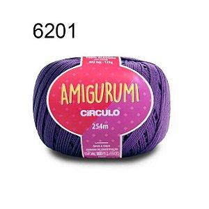 Linha Amigurumi 254m Cor 6201 Tecno - Círculo