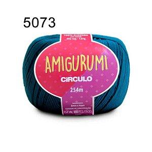Linha Amigurumi 254m Cor 5073 Petróleo - Círculo