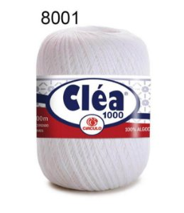 Linha Cléa 1000 151g Cor 8001 Branco - Círculo
