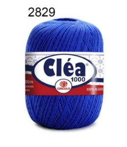Linha Cléa 1000 151g Cor 2829 Azul Bic - Círculo