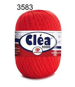 Linha Cléa 1000 151g Cor 3583 Cereja - Círculo