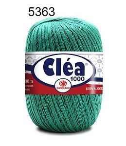 Linha Cléa 1000 151g Cor 5363 Esmeralda - Círculo