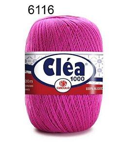 Linha Cléa 1000 151g Cor 6116 Rosa Choque - Círculo
