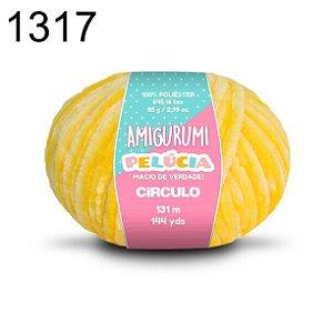 Linha Amigurumi Pelúcia 131m Cor 1317 Solar - Círculo