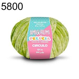 Linha Amigurumi Pelúcia 131m Cor 5800 Pistache - Círculo