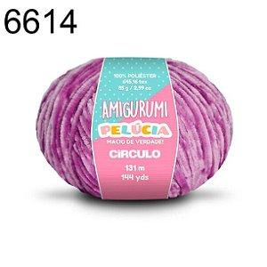 Linha Amigurumi Pelúcia 131m Cor 6614 Alfazema - Círculo