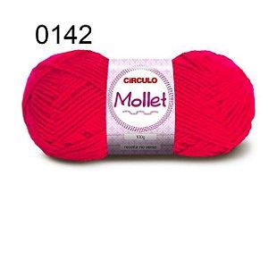 Lã Mollet 100gr 200m Cor 0142 Pimenta - Círculo