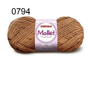 Lã Mollet 100gr 200m Cor 0794 Caravela - Círculo