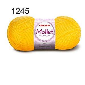 Lã Mollet 100gr 200m Cor 1245 Canário - Círculo