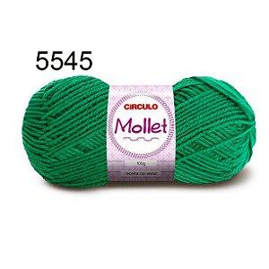 Lã Mollet 100gr 200m Cor 5545 Bandeira - Círculo