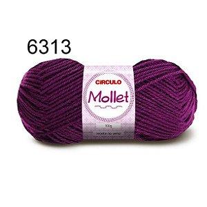 Lã Mollet 100gr 200m Cor 6313 Amora - Círculo