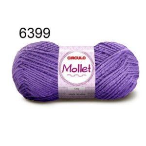 Lã Mollet 100gr 200m Cor 6399 Azaléia - Círculo