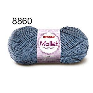 Lã Mollet 100gr 200m Cor 8860 Noturno - Círculo