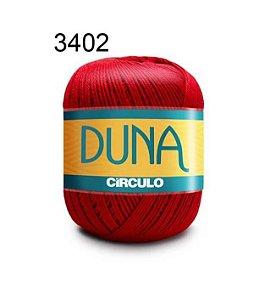 Linha Duna 100g Cor 3402 Vermelho Círculo - Círculo