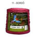 Barbante Amazônia 6 fios Cor 11 Bordô 2 kg - São João