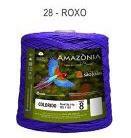 Barbante Amazônia 8 fios Cor 28 Roxo 2 kg