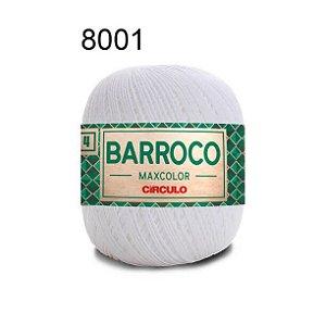 Barbante Barroco 4 Cor 8001 Branco (590 Tex) 200gr - Círculo