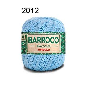 Barbante Barroco 4 Cor 2012 Azul Candy (590 Tex) 200gr - Círculo