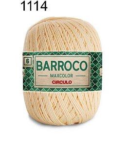 Barbante Barroco Maxcolor  6 Cor 1114 Amarelo Candy (885 Tex) 200gr - Círculo