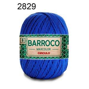 Barbante Barroco Maxcolor 6 Cor 2829 Azul Bic (885 Tex) 200gr - Círculo