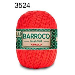 Barbante Barroco Maxcolor 6 Cor 3524 Chama  (885 Tex) 200gr - Círculo