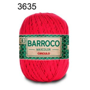 Barbante Barroco 6 Cor 3635 Paixão (885 Tex) 200gr - Círculo