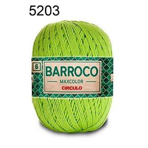 Barbante Barroco Maxcolor 6 Cor 5203 Greenery (885 Tex) 200gr - Círculo