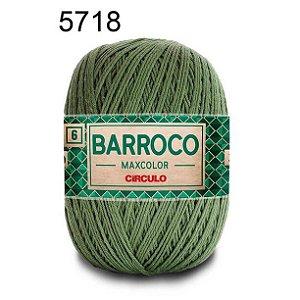 Barbante Barroco 6 Cor 5718 Militar (885 Tex) 200gr - Círculo