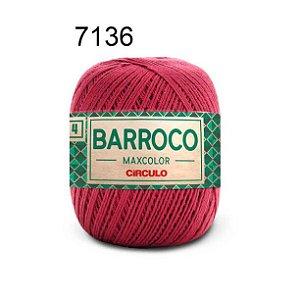 Barbante Barroco 4 Cor 7136 Marsala (590 Tex) 200gr - Círculo