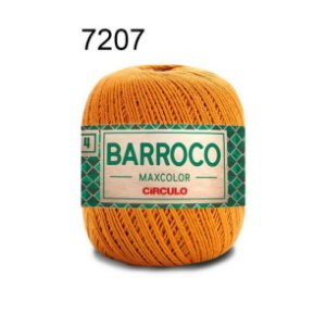 Barbante Barroco 4 Cor 7207 Âmbar (590 Tex) 200gr - Círculo