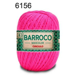 Barbante Barroco Maxcolor 6 Cor 6156 Tutti Frutti  (885 Tex) 200gr - Círculo