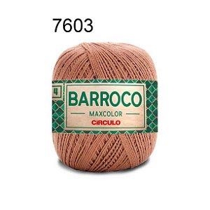Barbante Barroco 4 Cor 7603 Castor (590 Tex) 200gr - Círculo