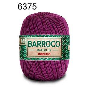 Barbante Barroco 6 Cor 6375 Uva  (885 Tex) 200gr - Círculo