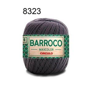 Barbante Barroco Maxcolor 4 Cor 8323 Cinza Ônix (590 Tex) 200gr - Círculo