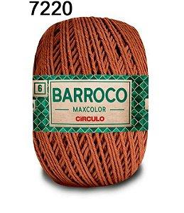 Barbante Barroco Maxcolor 6 Cor 7220 Tâmara  (885 Tex) 200gr - Círculo