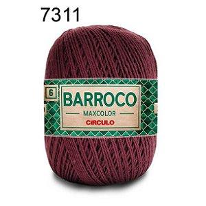 Barbante Barroco Maxcolor 6 Cor 7311 Tabaco  (885 Tex) 200gr - Círculo