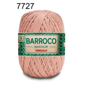 Barbante Barroco 6 Cor 7727 Caqui  (885 Tex) 200gr - Círculo