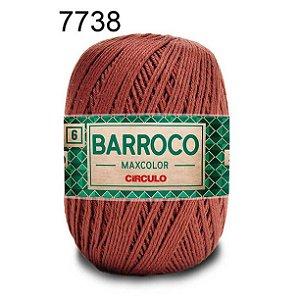 Barbante Barroco Maxcolor 6 Cor 7738 Café  (885 Tex) 200gr - Círculo