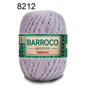 Barbante Barroco 6 Cor 8212 Cromado  (885 Tex) 200gr - Círculo