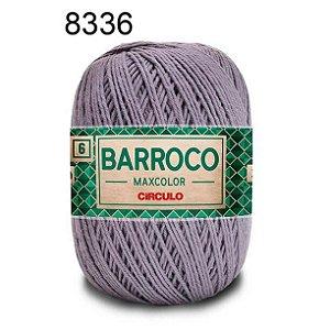 Barbante Barroco Maxcolor 6 Cor 8336 Cinza Chumbo  (885 Tex) 200gr - Círculo