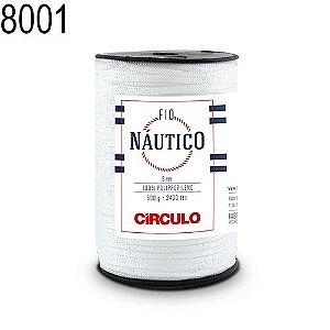 Fio Náutico 500gr Cor 8001 Branco - Círculo
